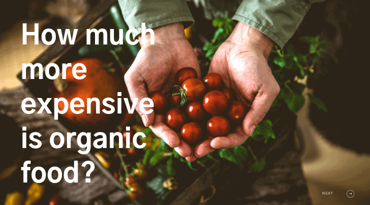 How Much More Expensive Is Organic Food Money Tips Blog